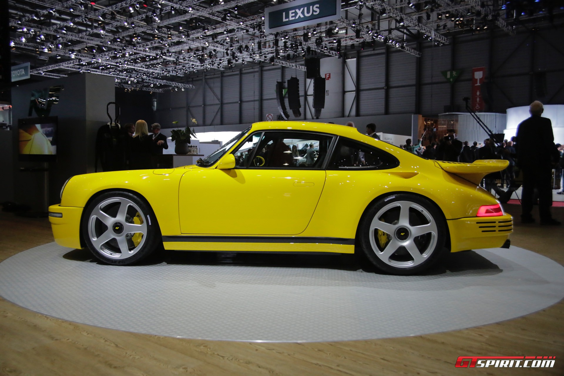 Geneva 2017 Ruf Ctr The Modern Yellowbird Gtspirit