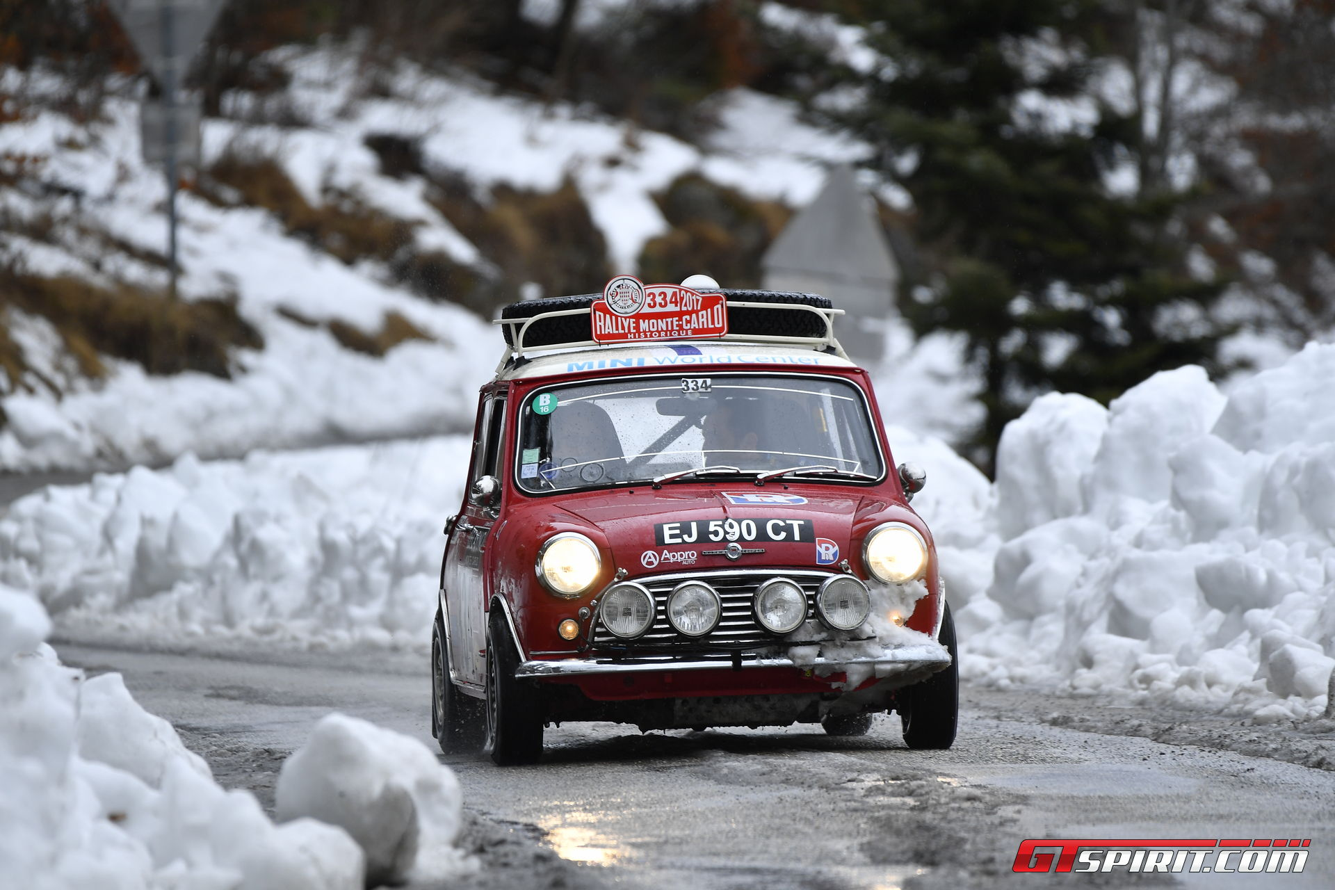 Reliving the 1967 Rallye Monte Carlo with Rally Legend Rauno ...