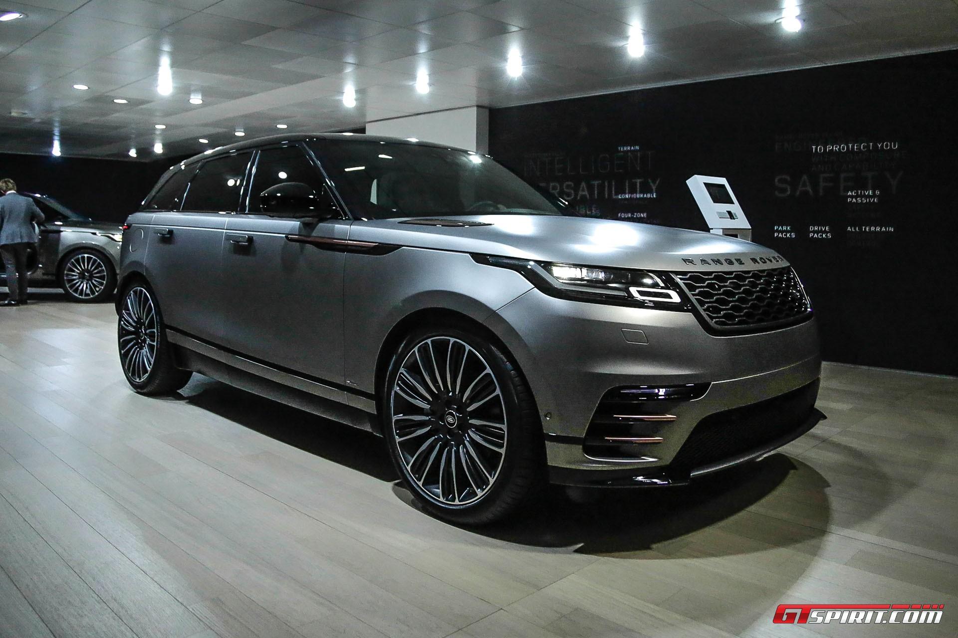 Geneva 2017 Range Rover Velar GTspirit