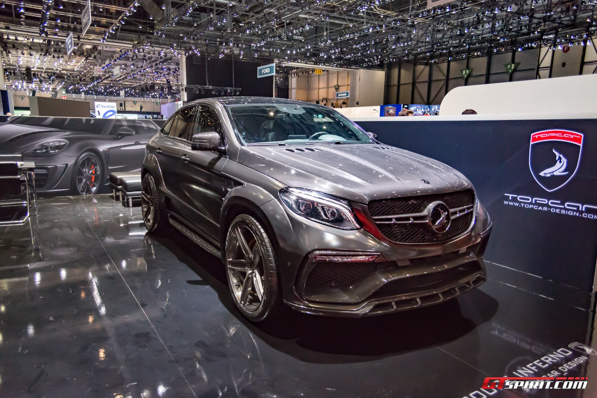 Geneva 2017 topcar mercedes amg gle 63 coupe inferno for 2017 amg gle 63 mercedes benz