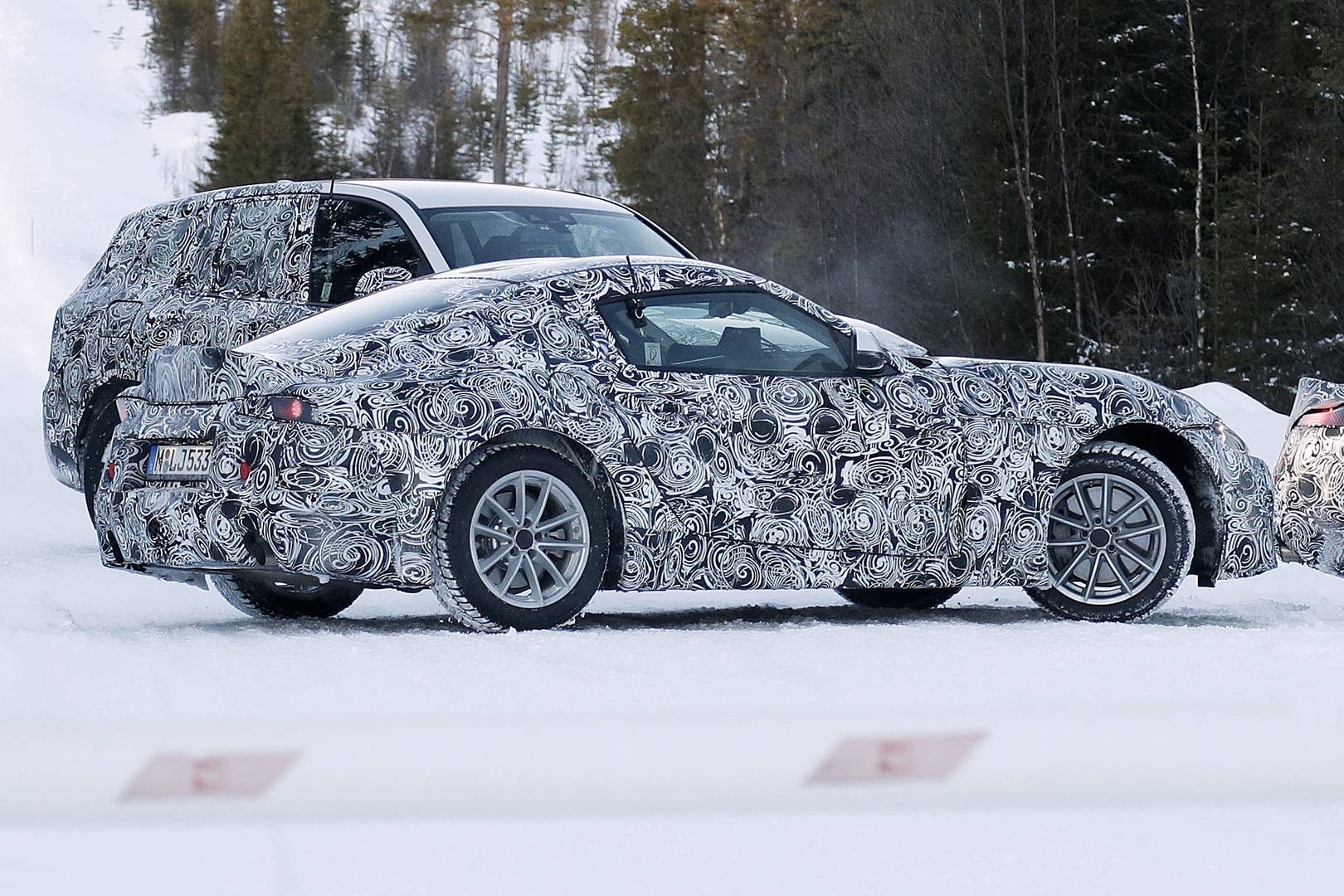 2018 Toyota Supra And Bmw Z5 Roadster Spy Shots Gtspirit