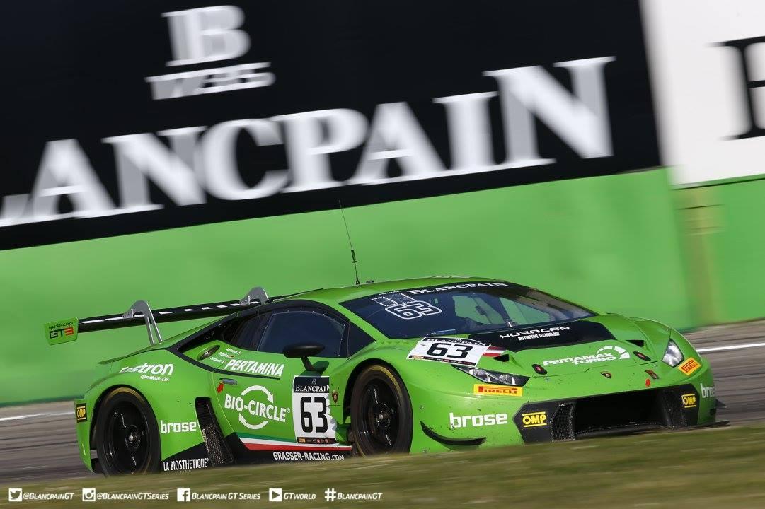 Blancpain GT: Lamborghini Wins Endurance Cup Opener at Monza