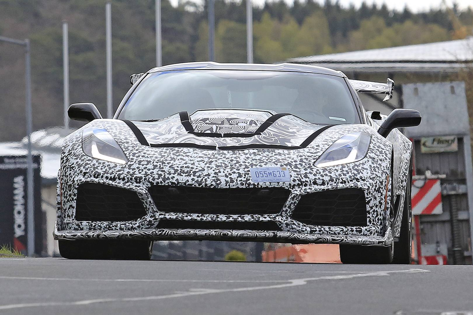 2018 Corvette ZR1 Newest Spy Shots - GTspirit