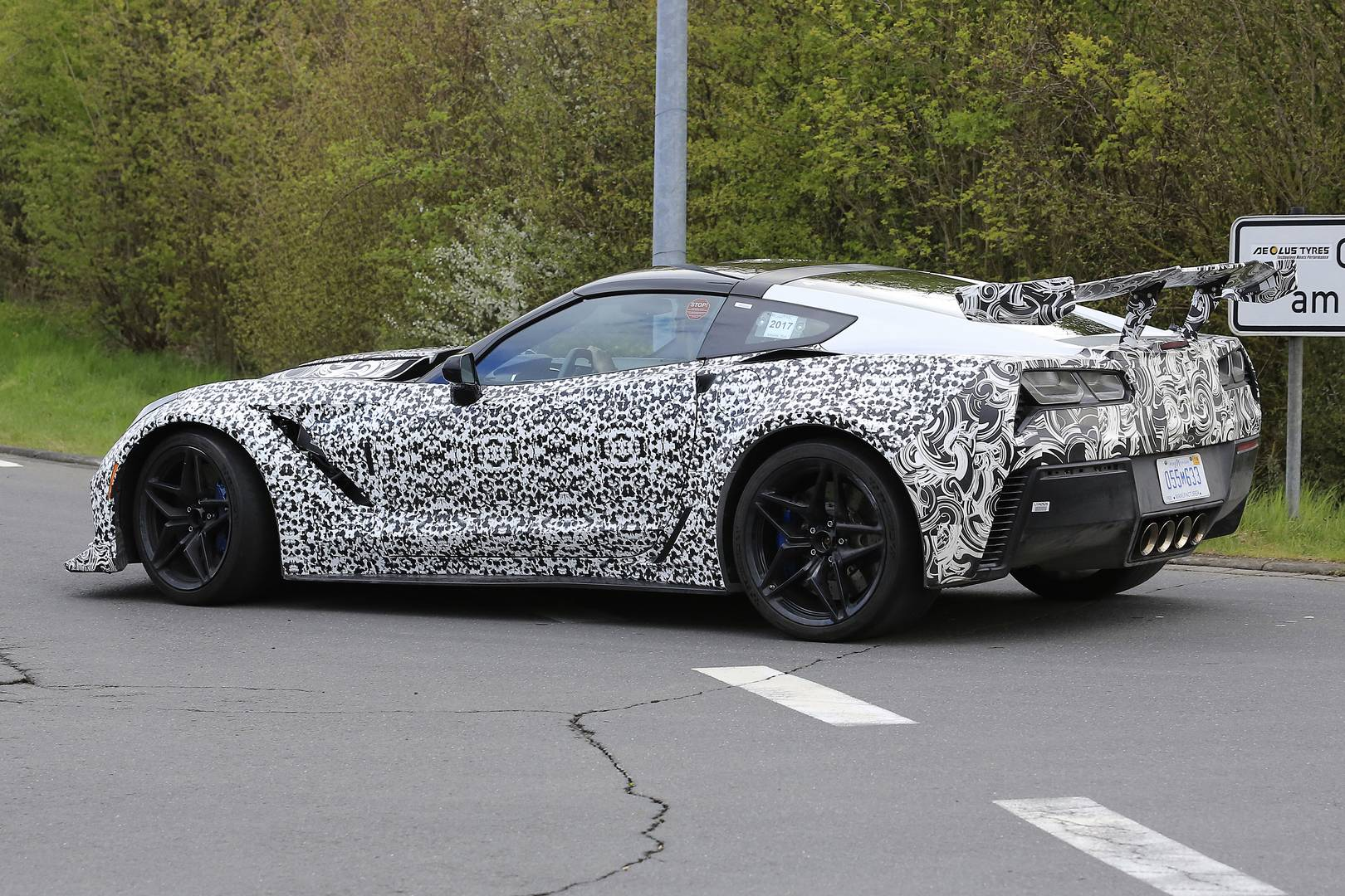 2018 Corvette Zr1 Newest Spy Shots Gtspirit