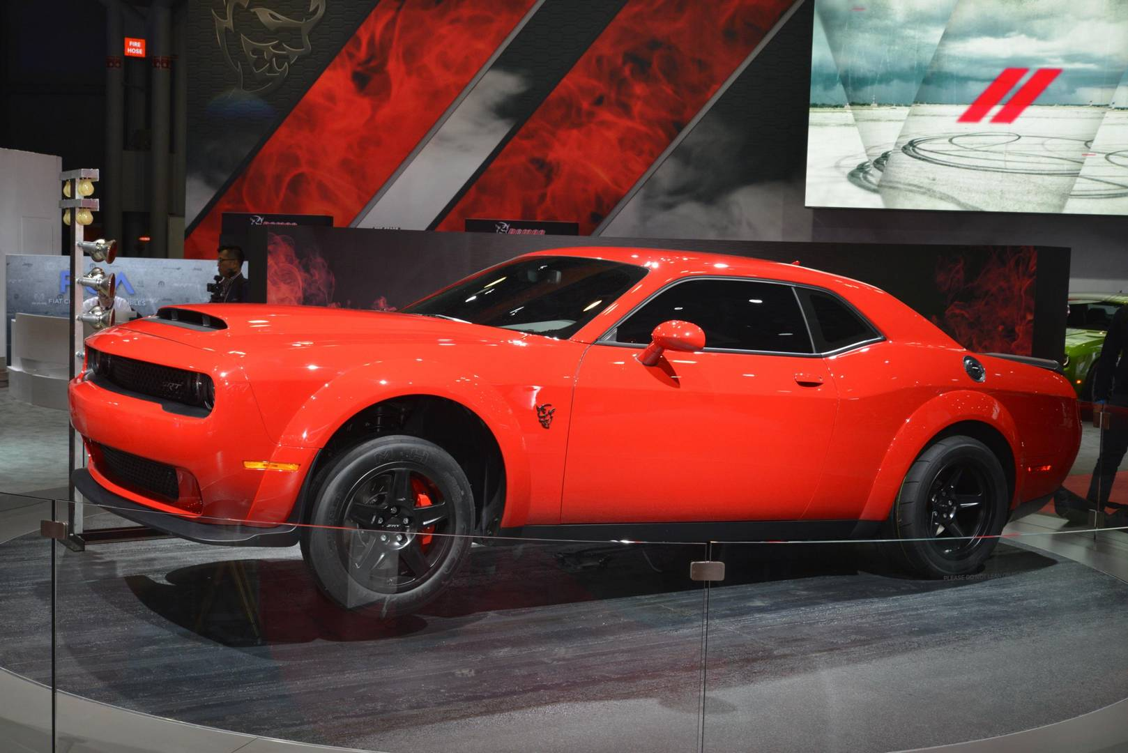 New York 2017: Dodge Challenger SRT Demon - GTspirit