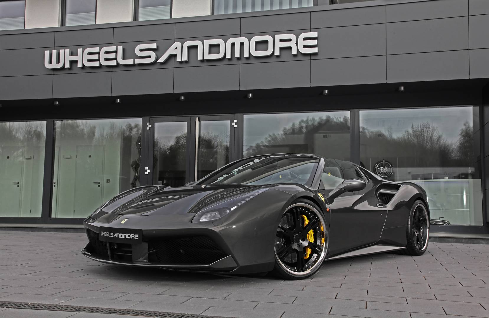 Official: 777hp Ferrari 488 Spider by Wheelsandmore