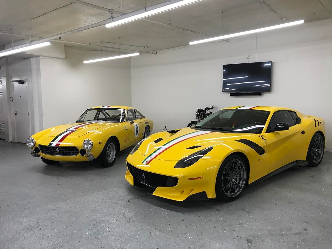 One Off Ferrari F12tdfdskl Revealed Tribute To 250 Lusso
