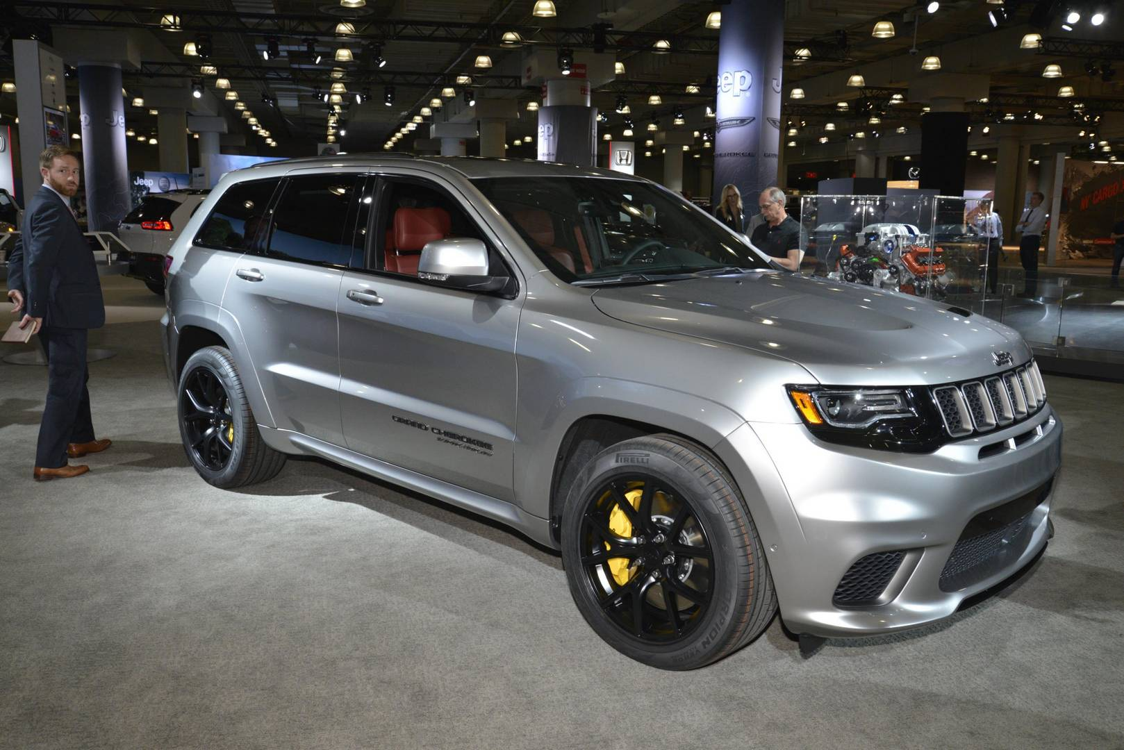 Hawk Brake Pads >> New York 2017: Jeep Grand Cherokee Trackhawk - GTspirit