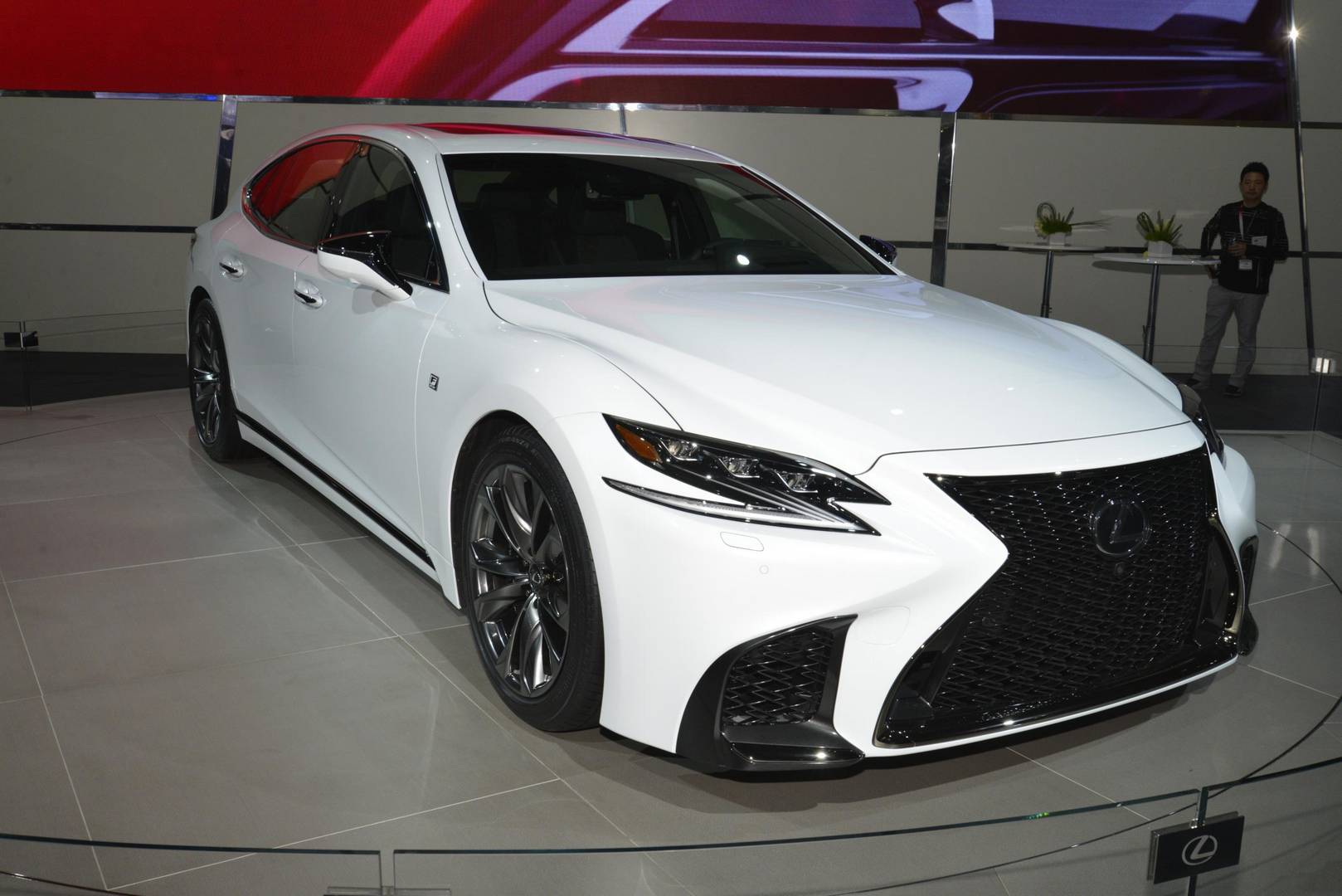 New York 2017 Lexus Ls F Sport Gtspirit