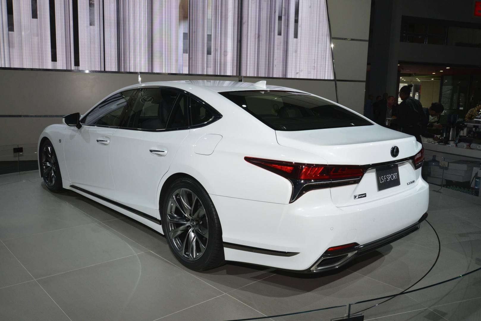 New York 2017 Lexus LS F Sport GTspirit