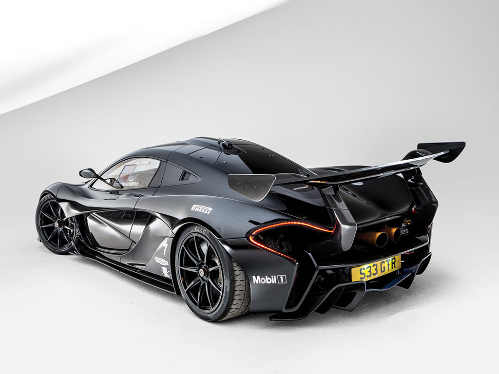 Road Legal McLaren P1 GTR to be Auctioned at Villa Erba ...