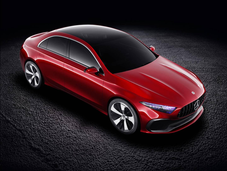 Official mercedes benz concept a sedan gtspirit for Mercedes benz sedan 2017