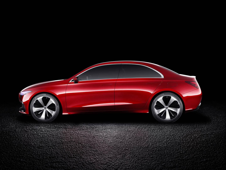 Official Mercedes Benz Concept A Sedan Gtspirit