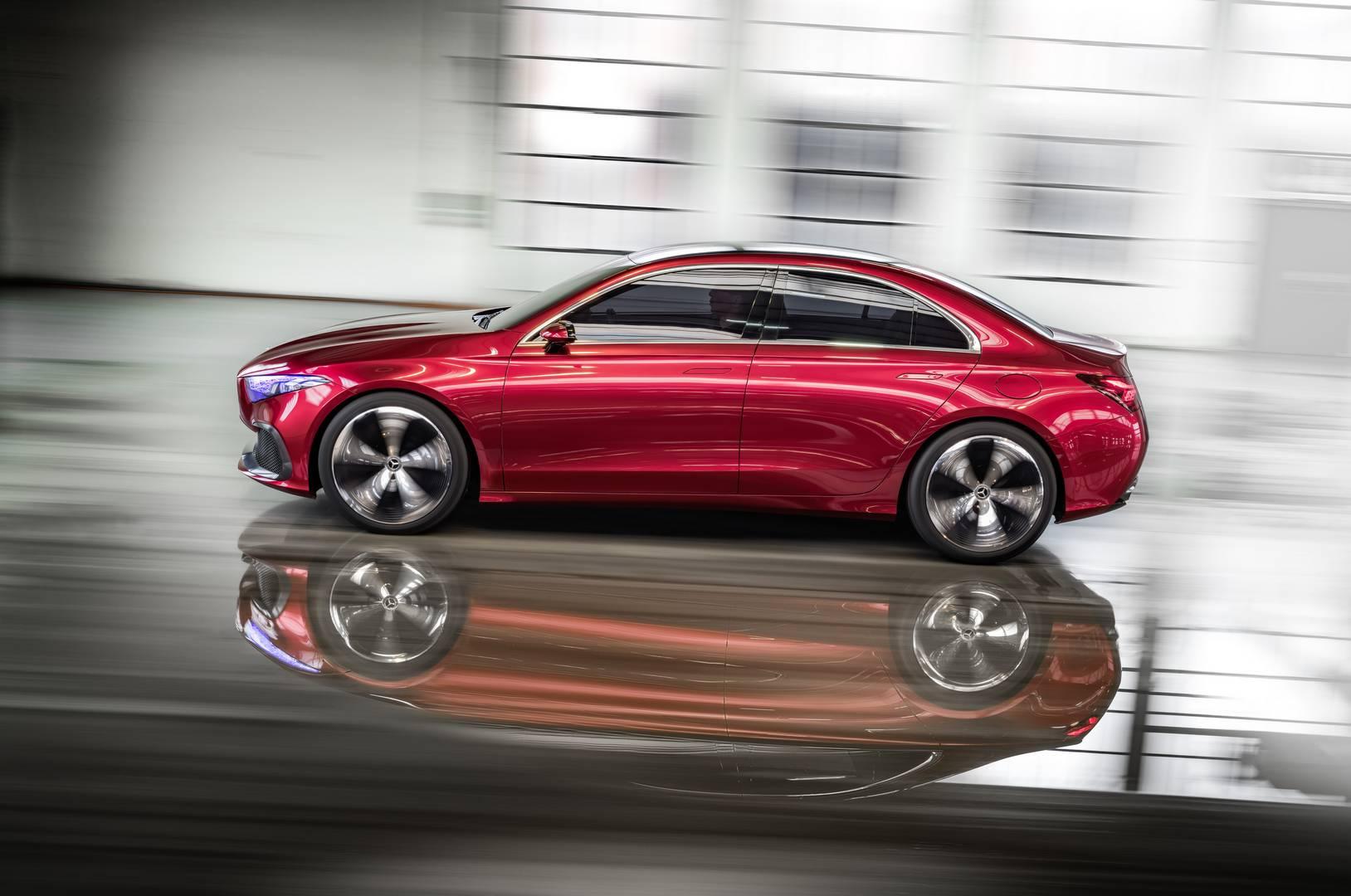 Official mercedes benz concept a sedan gtspirit for New mercedes benz concept