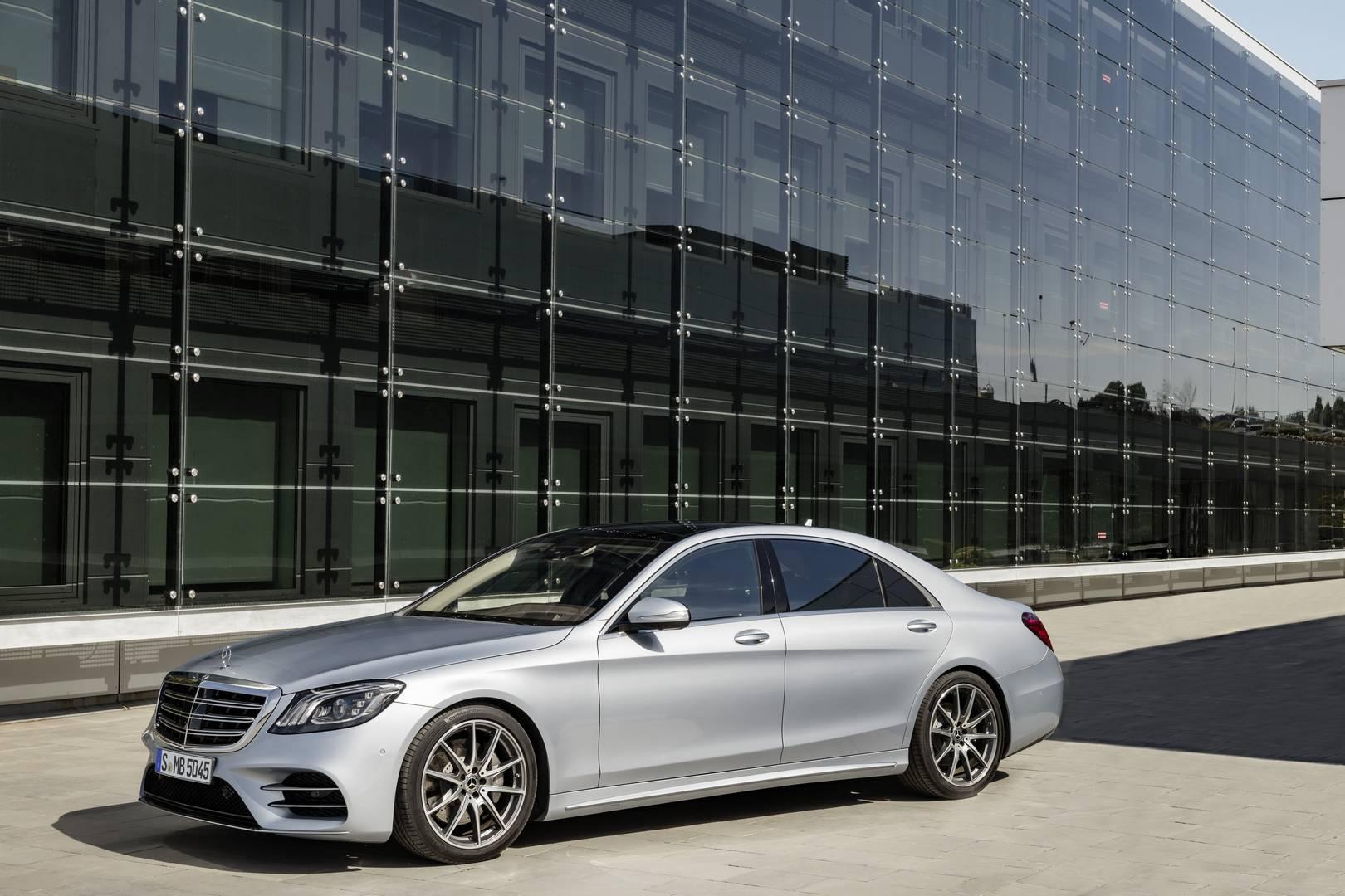 Official 2018 Mercedes Benz S Class Facelift Gtspirit