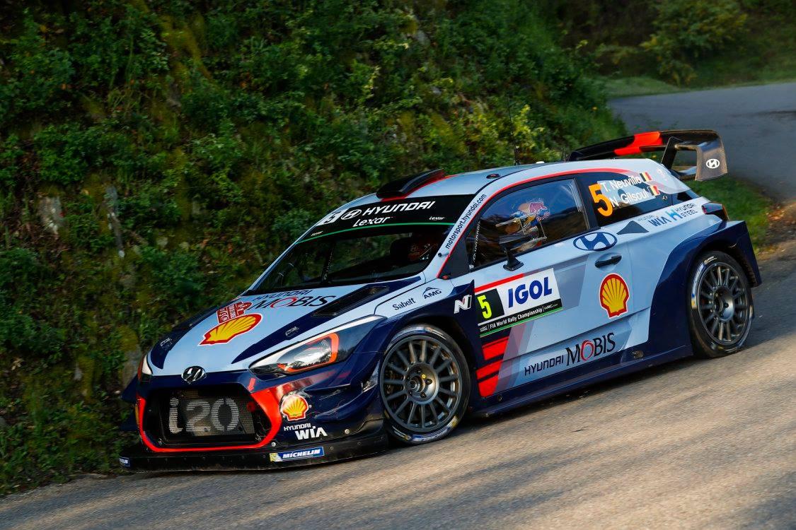 WRC: Hyundai's Thierry Neuville Wins Tour de Corse 2017 - GTspirit