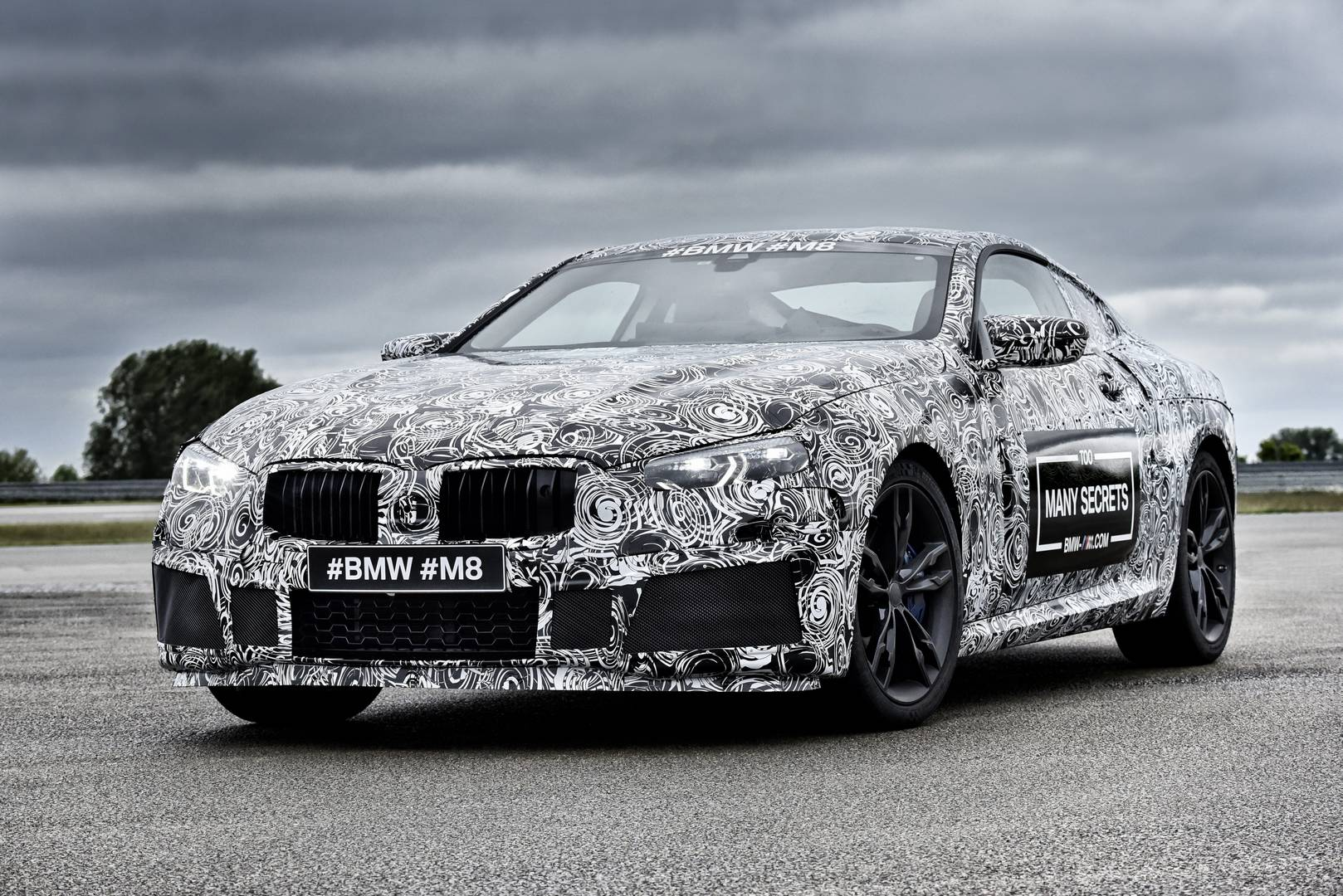 BMW M8 prototype revealed