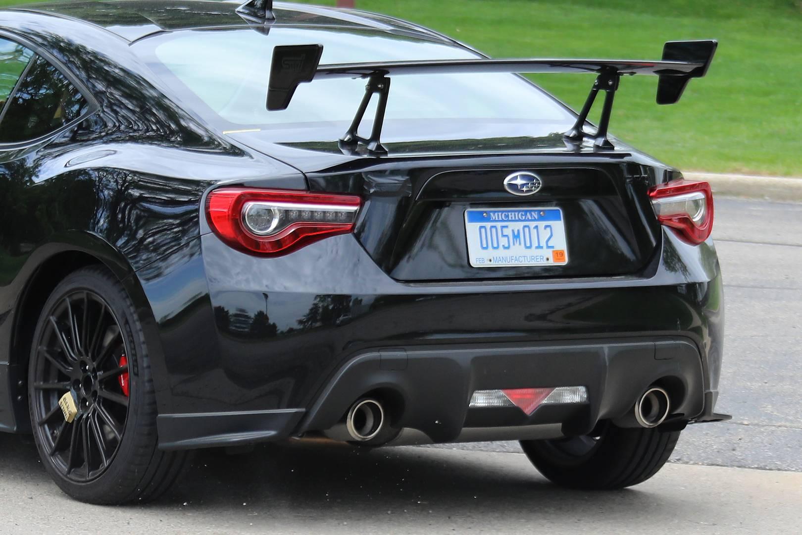 Subaru Brz Sti First Spy Shots Gtspirit