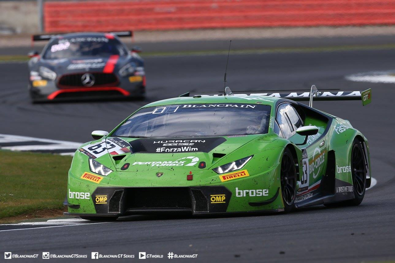 Blancpain GT: Lamborghini Scores 3rd Straight Win with Silverstone Victory