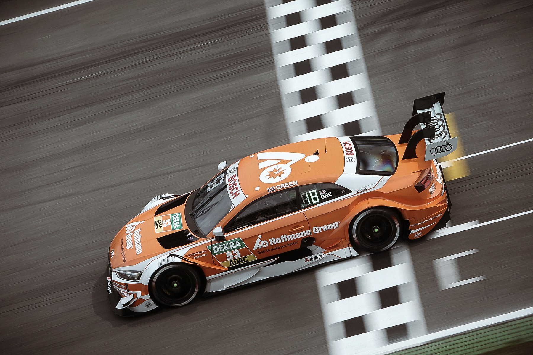 DTM: Auer and Green Victorious at Hockenheim Season Opener