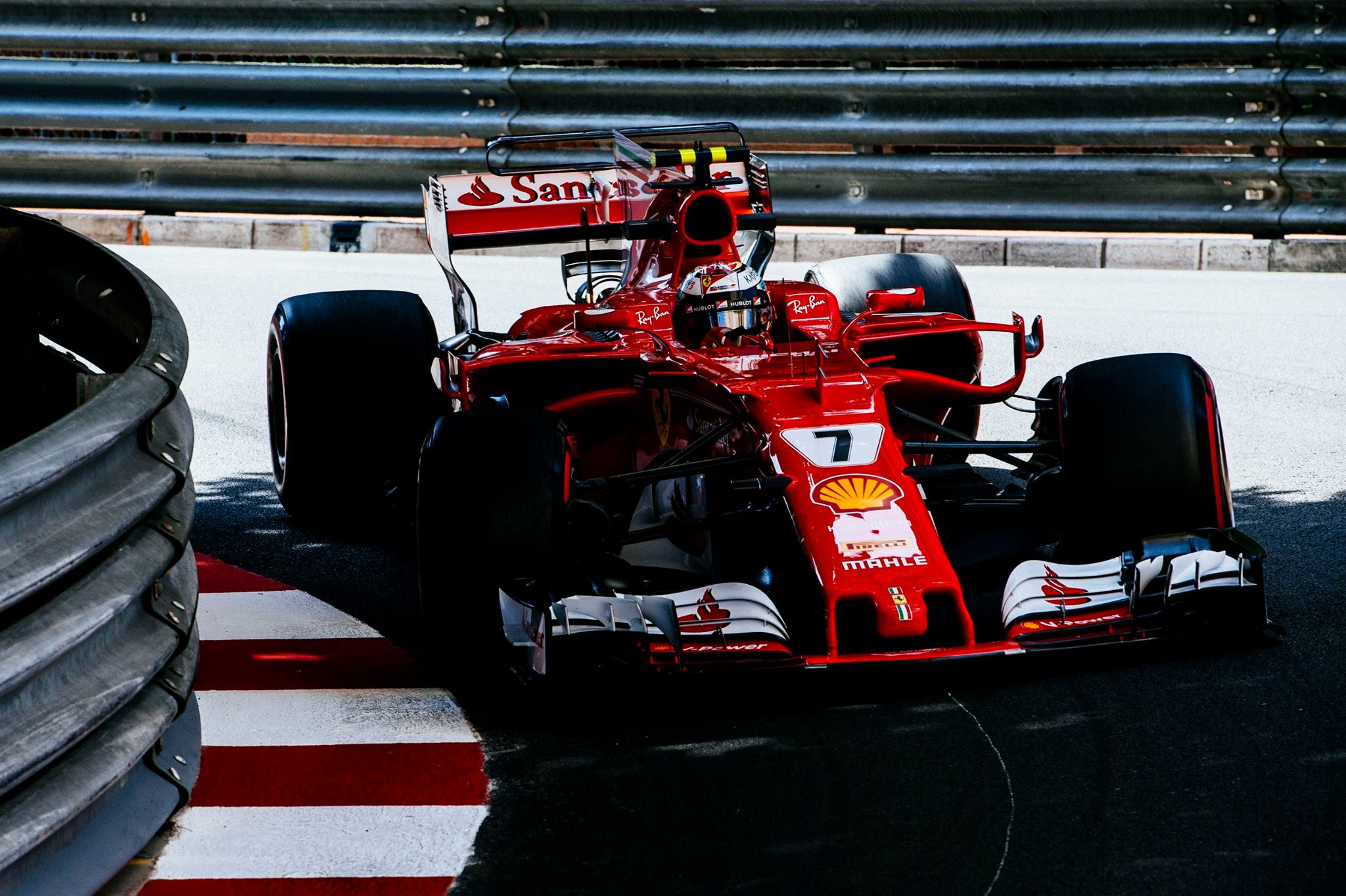 f1 raikkonen leads ferrari 1 2 qualifying at monaco gp gtspirit. Black Bedroom Furniture Sets. Home Design Ideas