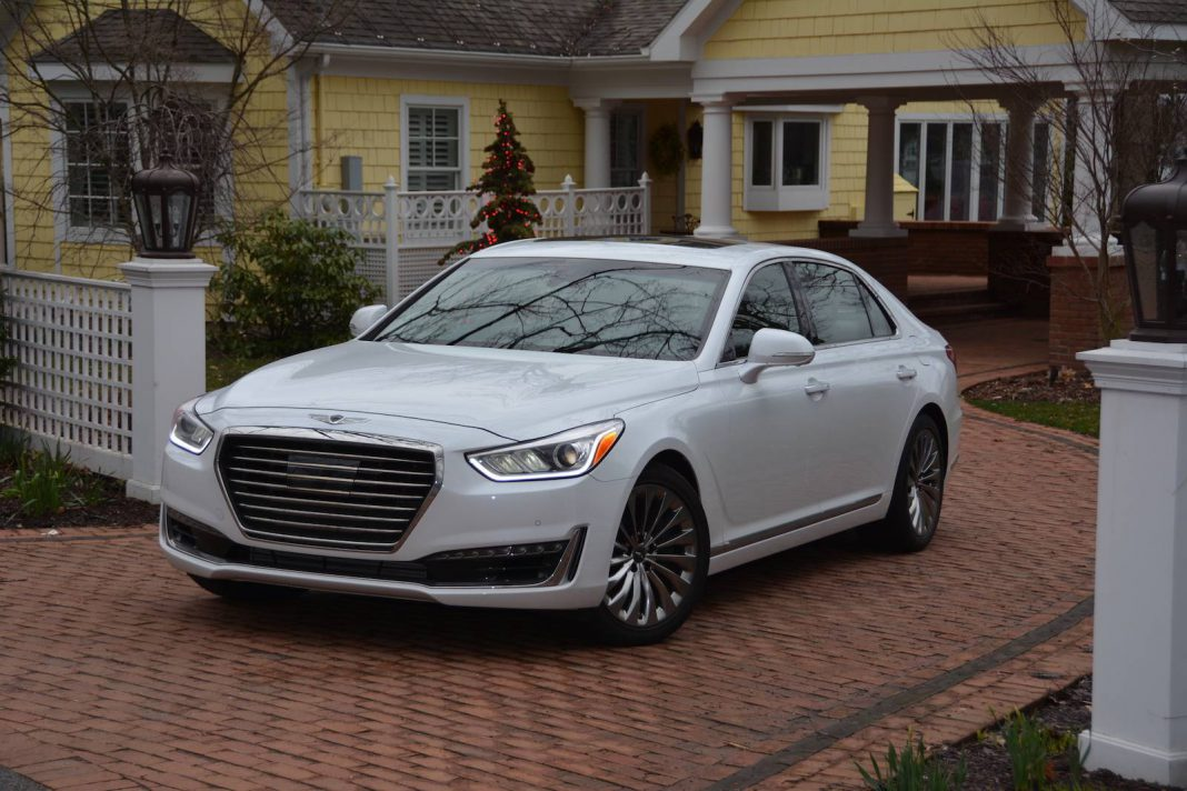 2017 genesis g90 awd review gtspirit. Black Bedroom Furniture Sets. Home Design Ideas