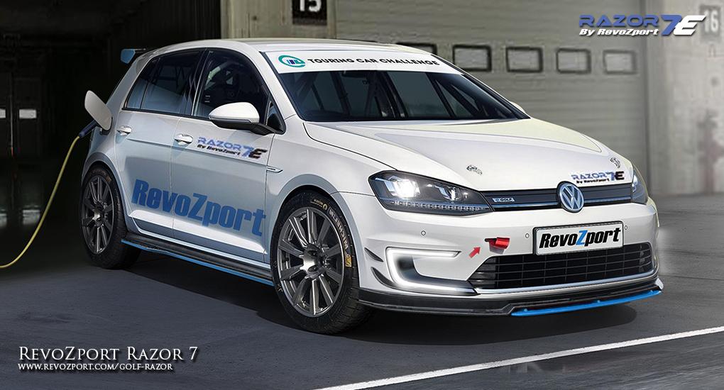 Official: Volkswagen Golf VII Razor 7E for e-Golf by Revozport