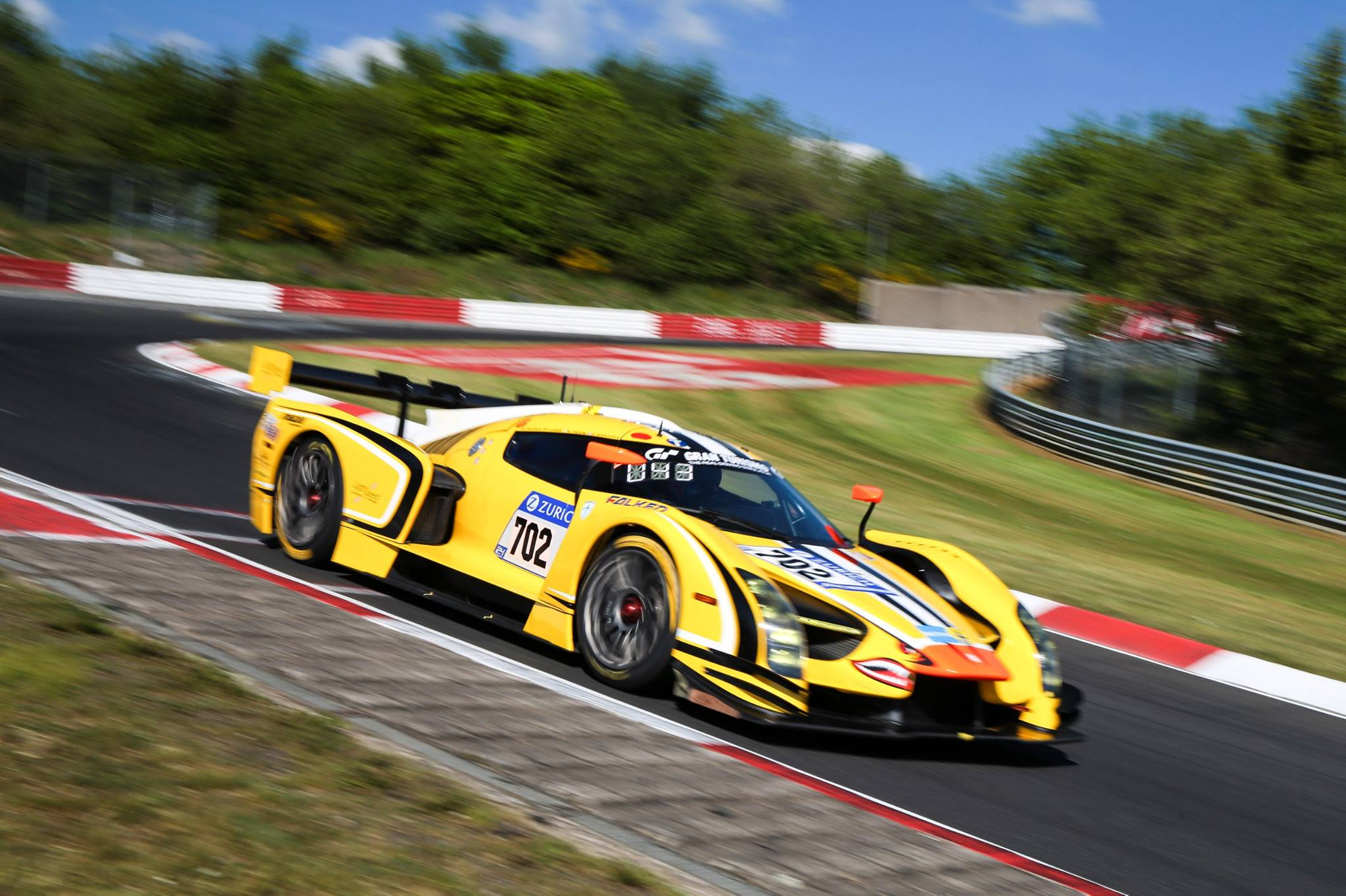 Glickenhaus Takes Surprise Pole For 45th Nurburgring 24