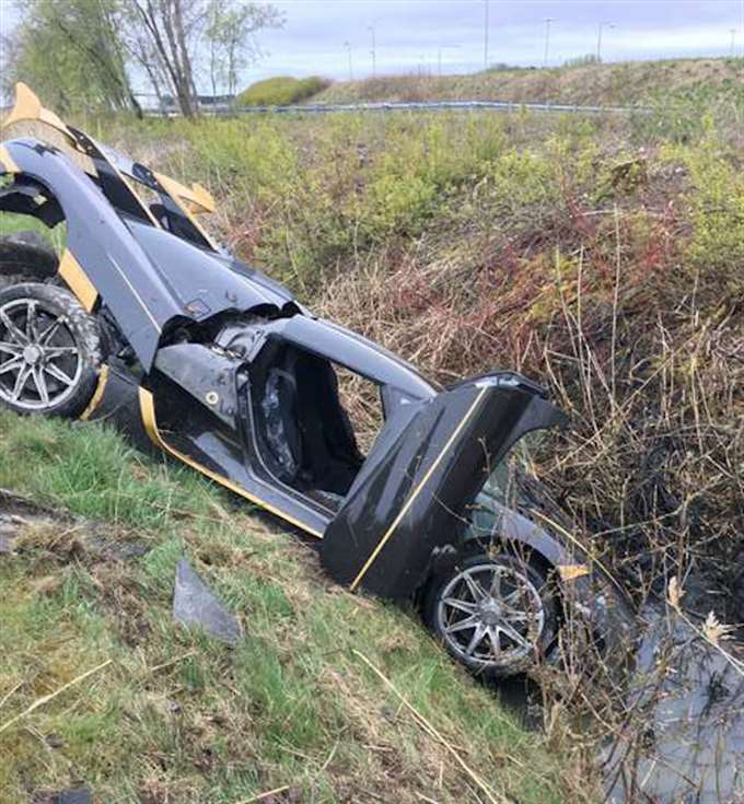 New Koenigsegg Crashes While Testing in Sweden