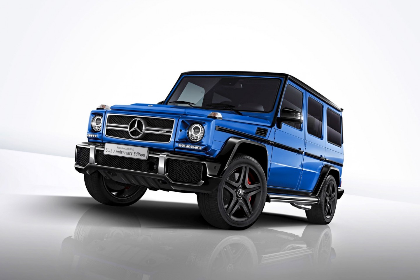 Official mercedes amg g63 edition 50 gtspirit for Mercedes benz 50