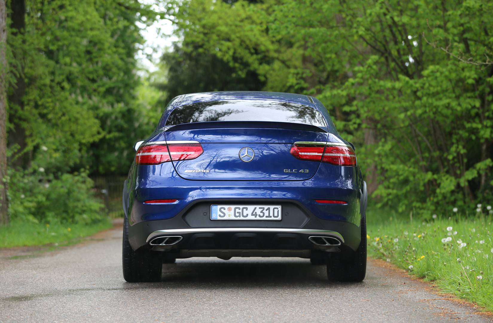 2017 Mercedes-AMG GLC 43 Coupe Review - GTspirit