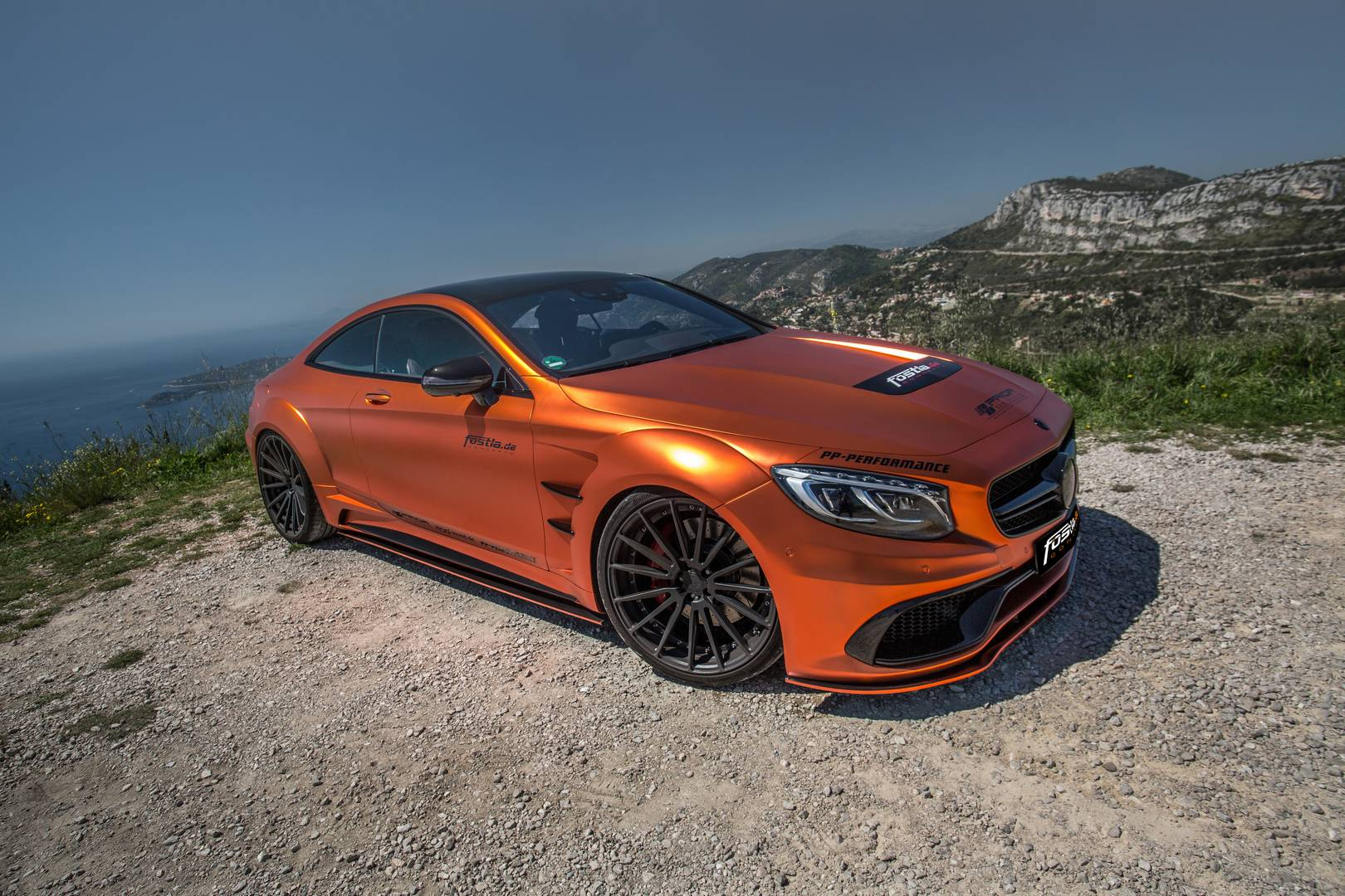 740hp orange chrome matt mercedes amg s63 by for Mercedes benz s 63 amg