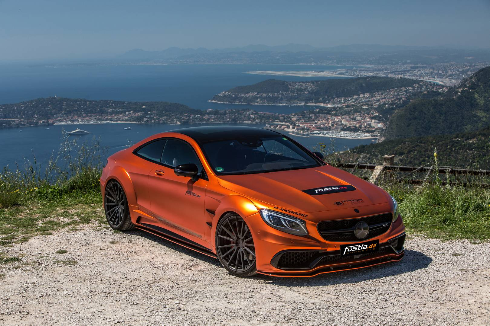 740hp Orange Chrome Matt Mercedes Amg S63 By Fostla De