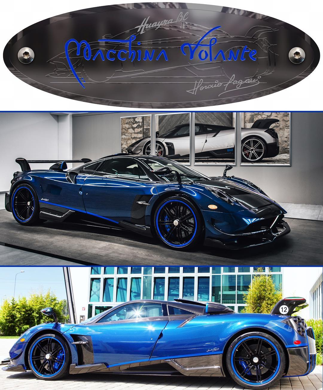 Pagani Huayra Bc For Sale Production 20 Cars: Special Pagani Huayra BC Macchina Volante Delivered To
