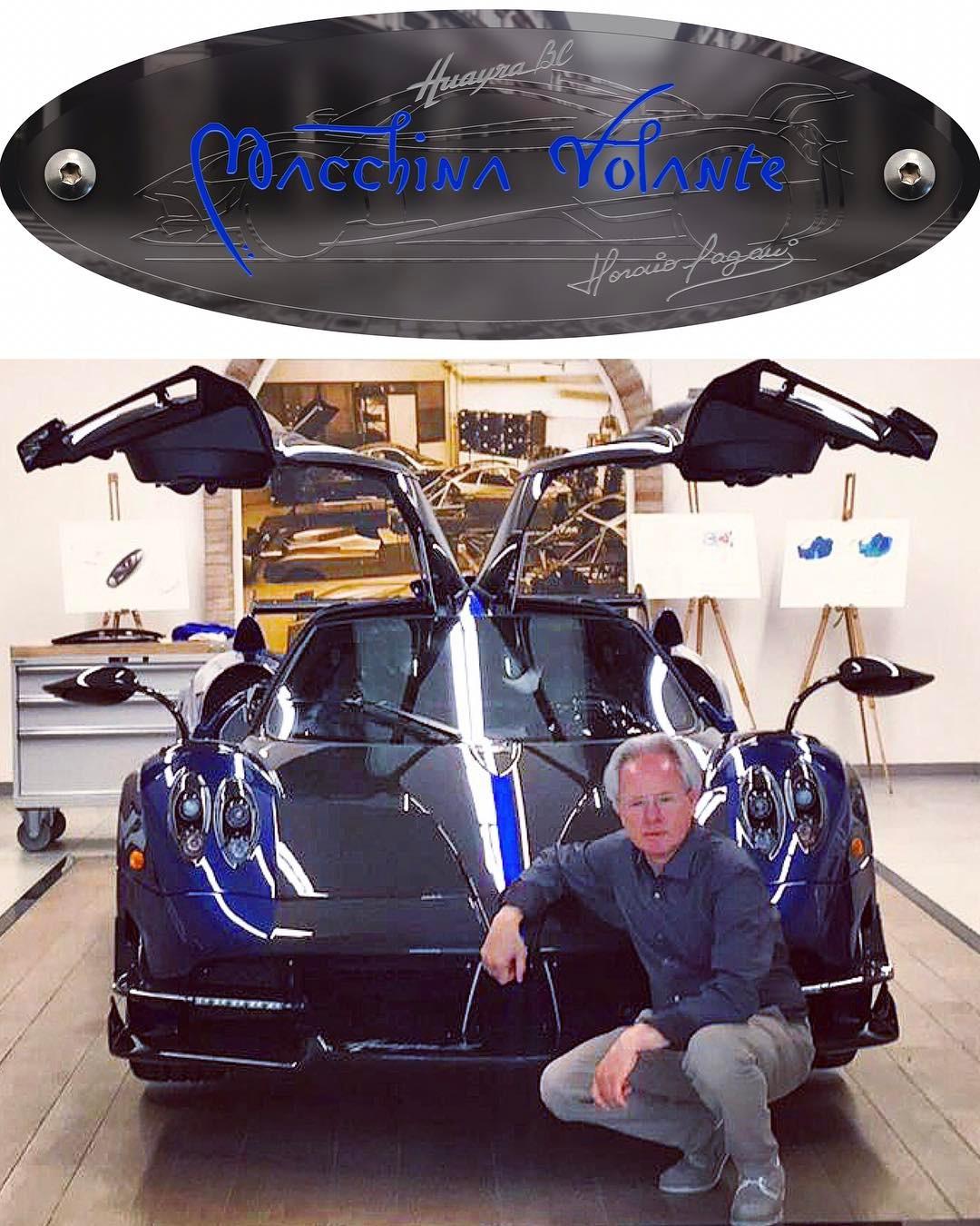 Special Pagani Huayra BC Macchina Volante Delivered to ...
