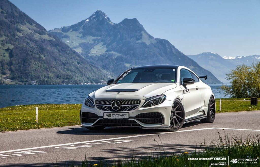 Official Prior Design Mercedes Benz C Class Coupe