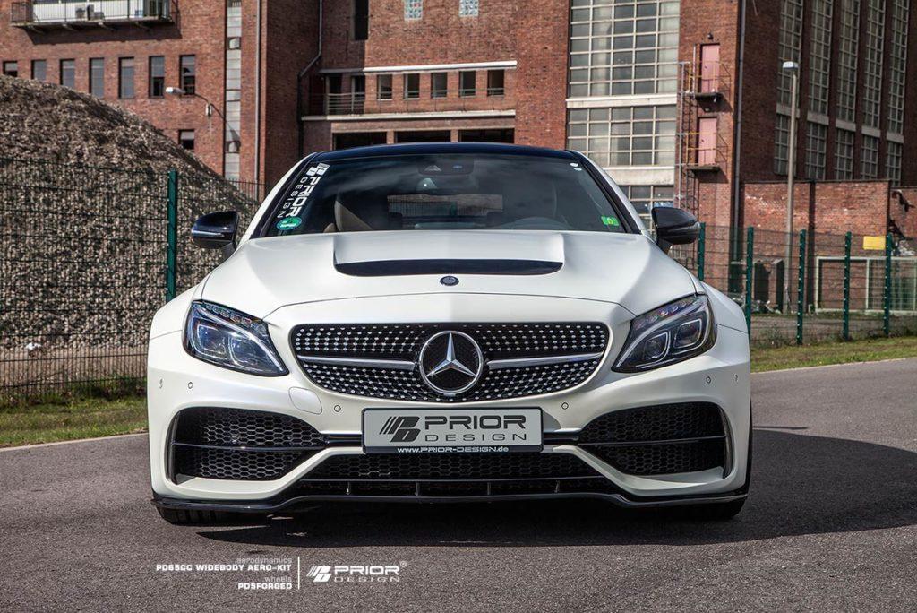 Official prior design mercedes benz c class coupe for Mercedes benz design