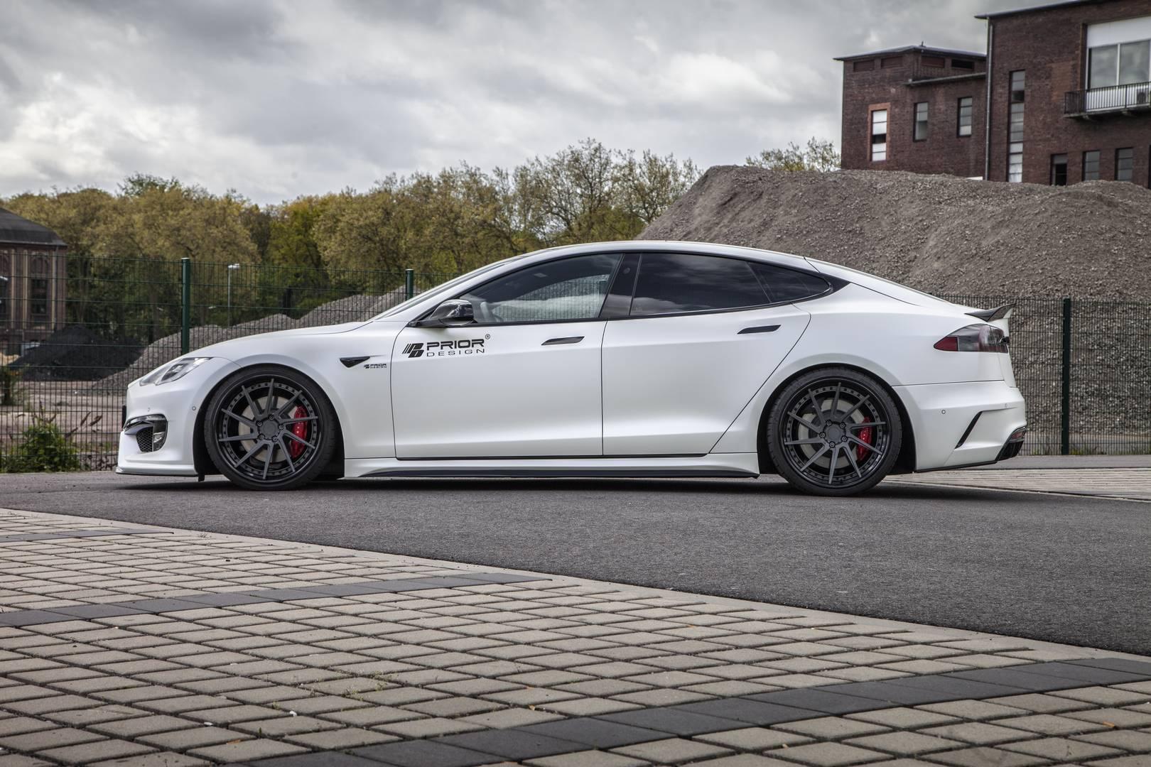 Tesla Model S Custom >> Official: Prior Design Tesla Model S P100D - GTspirit