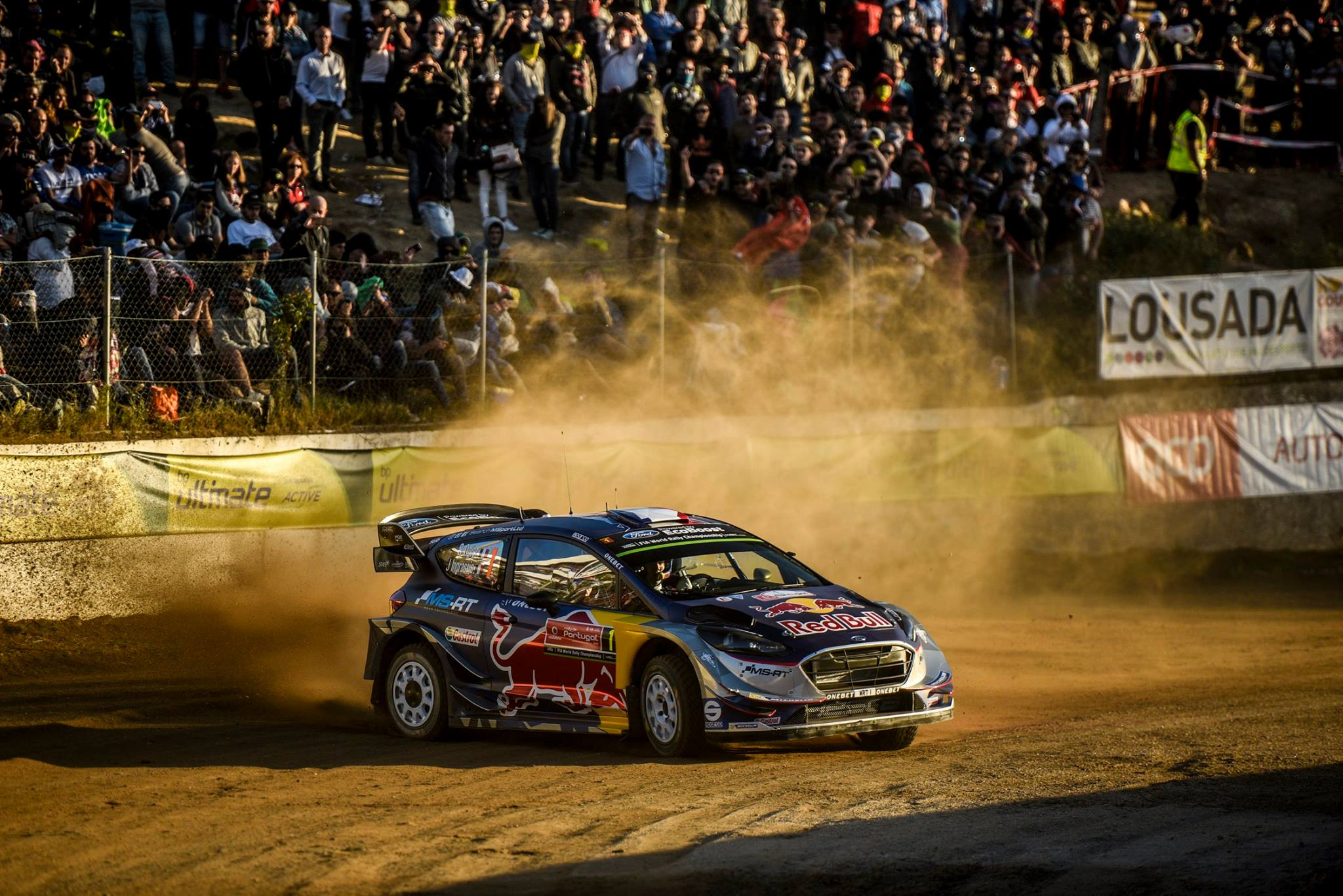 Rallying-Ogier wins in Portugal for the fifth time