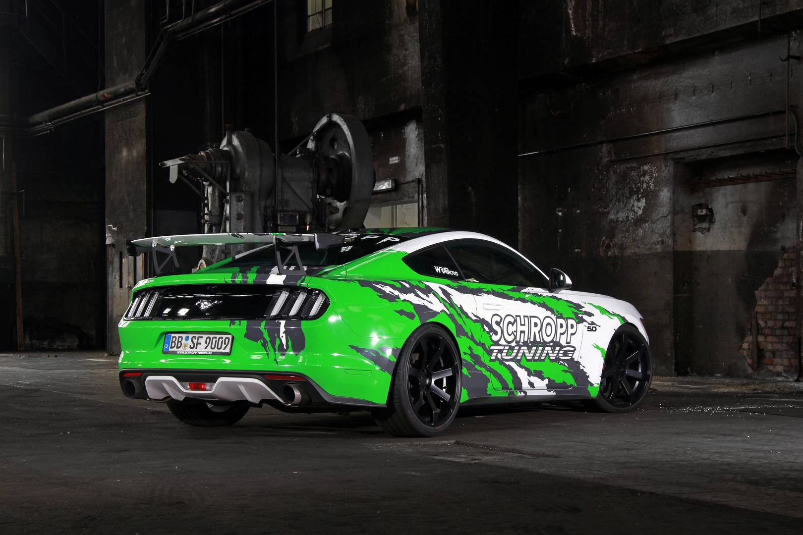official 807hp ford mustang sf600r by schropp tuning. Black Bedroom Furniture Sets. Home Design Ideas