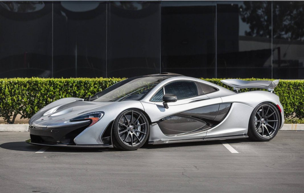 supernova silver mclaren p1 for sale in the us at 2 399 000 gtspirit. Black Bedroom Furniture Sets. Home Design Ideas