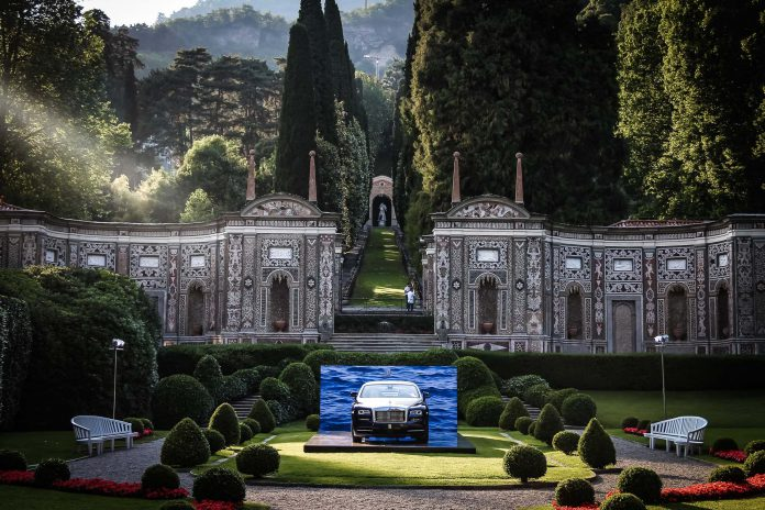 Villa d'Este 2017 Rolls Royce