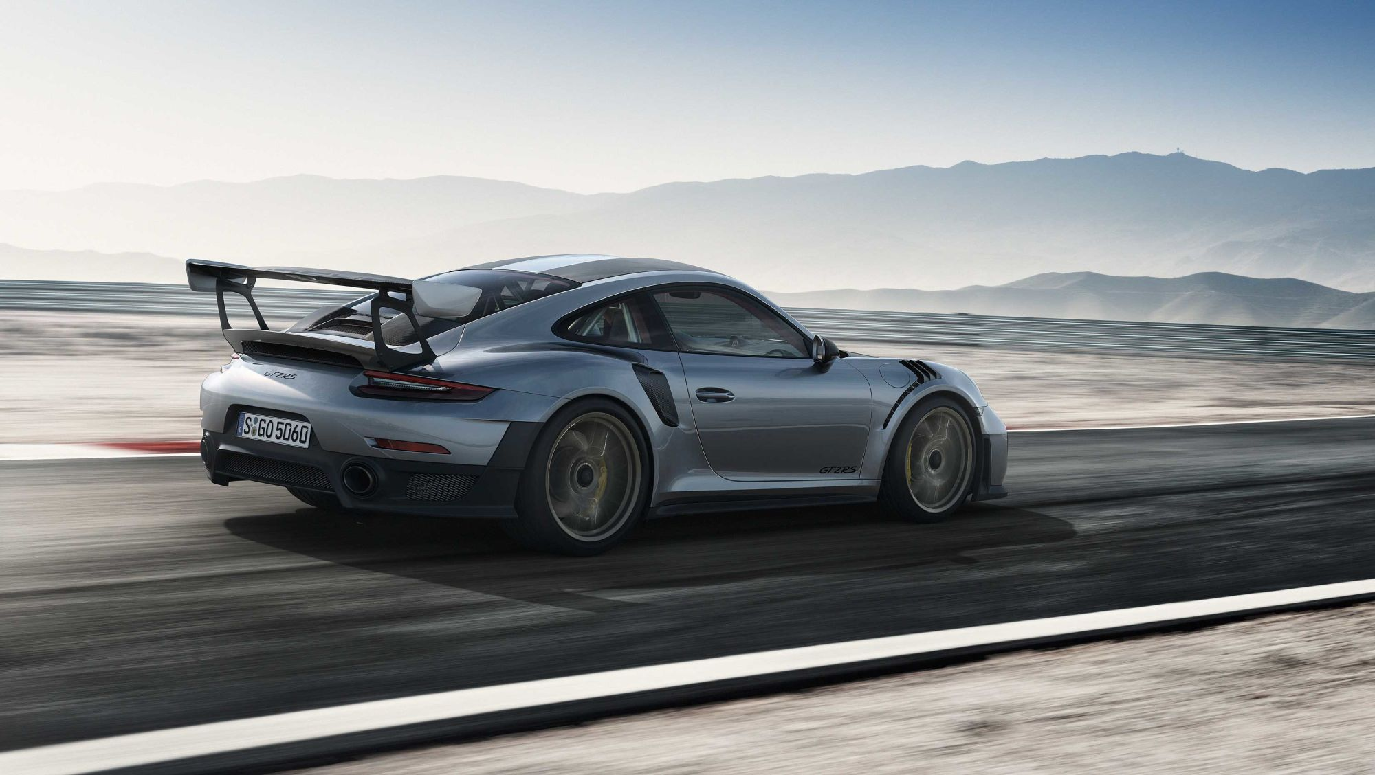Seven reasons Porsche's 911 GT2 RS is special