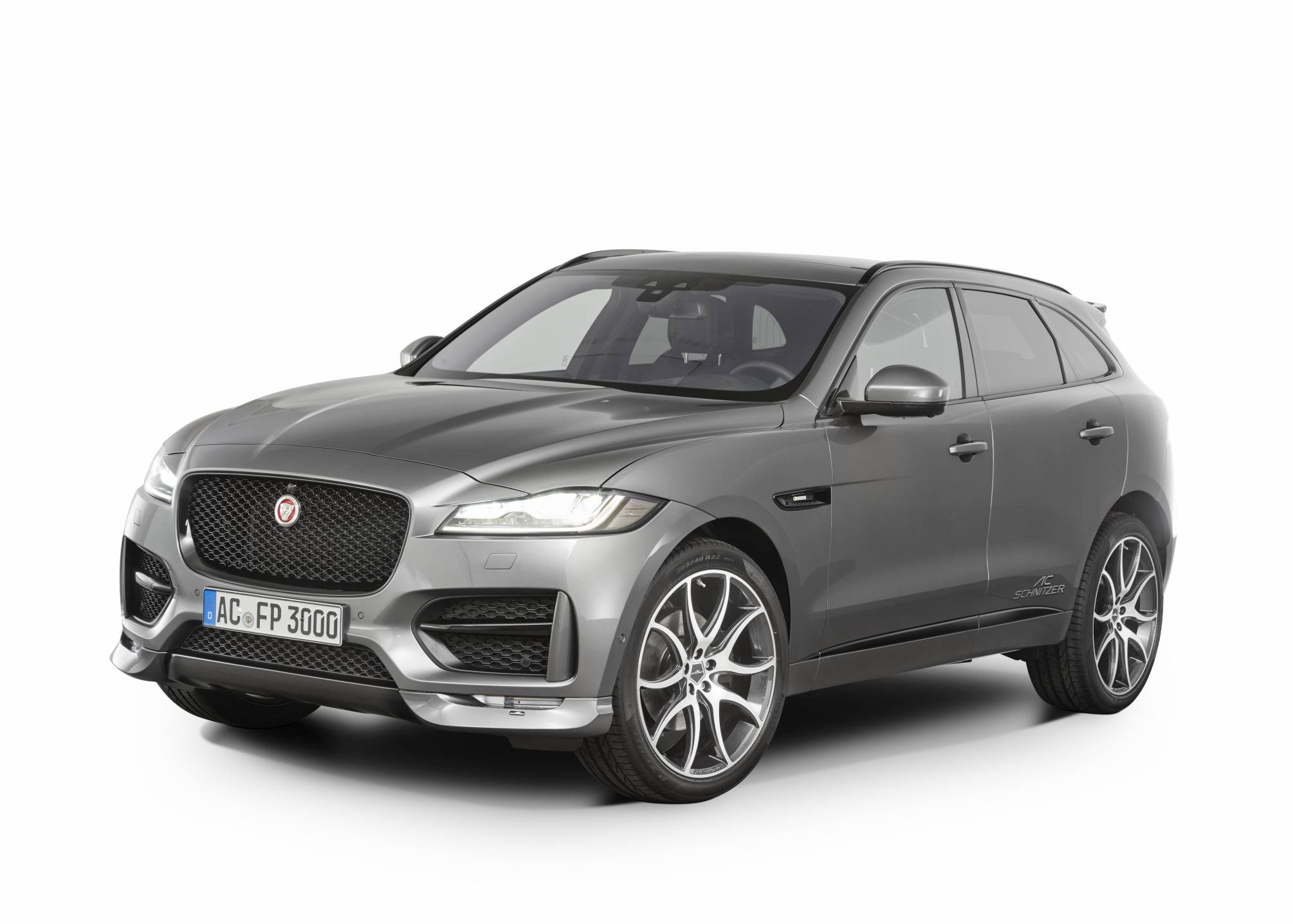 official ac schnitzer jaguar f pace gtspirit. Black Bedroom Furniture Sets. Home Design Ideas