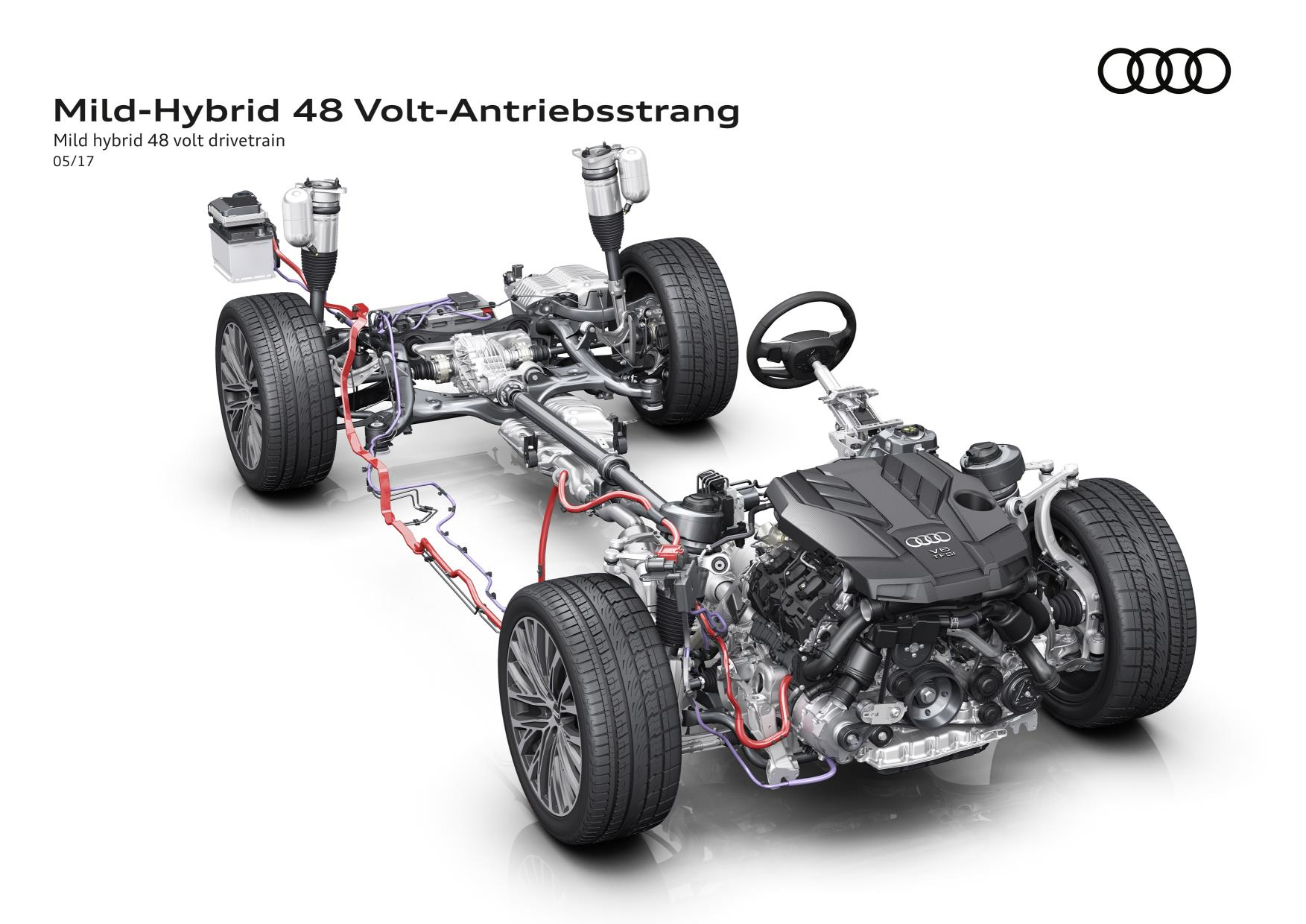 Next Gen Audi A8 to Feature Electrified Powertrain as Standard