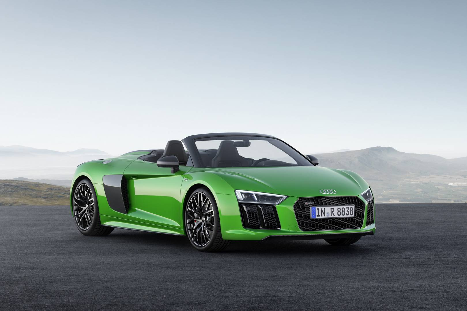 Official: 2018 Audi R8 Spyder V10 plus