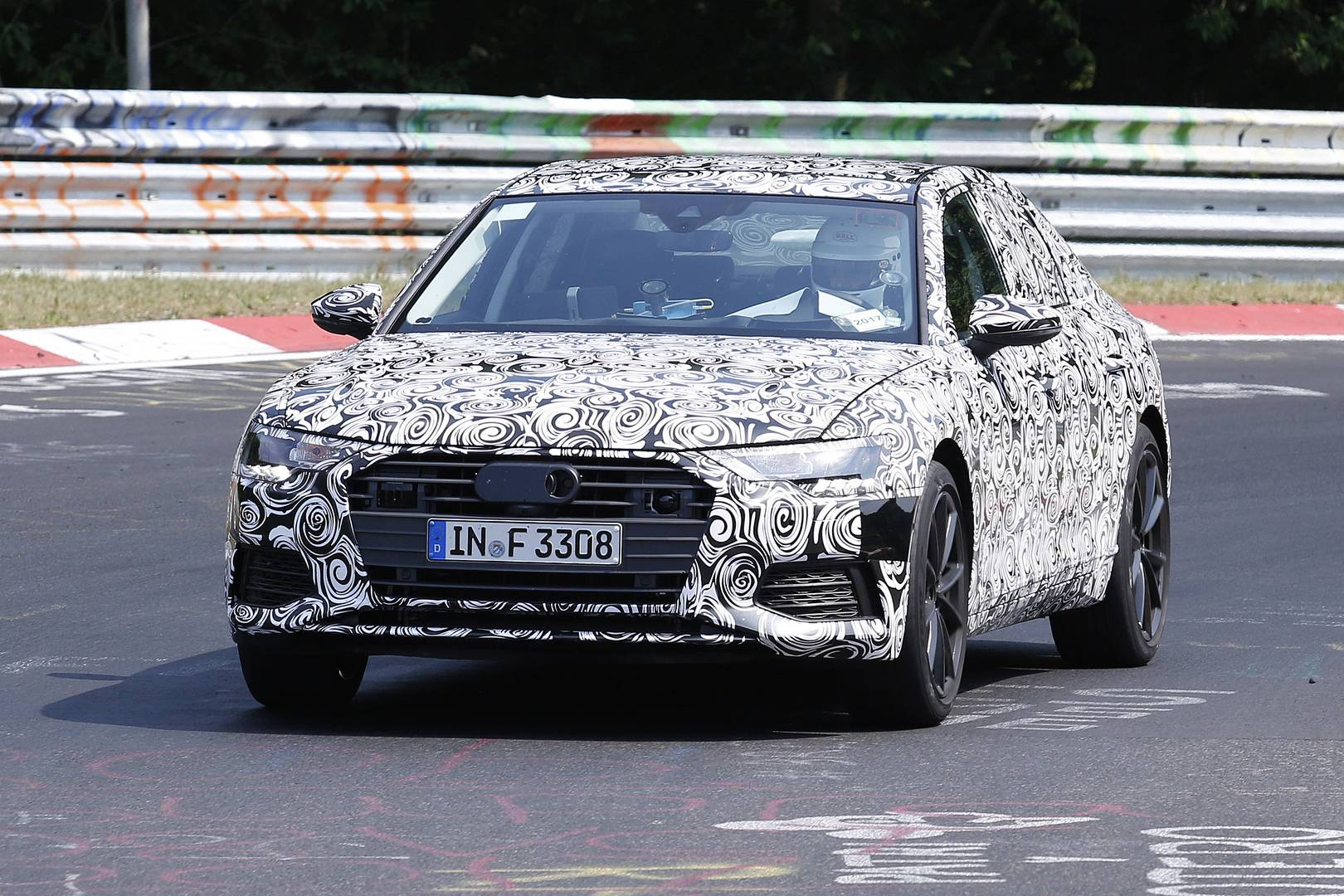 2019 Audi S6 First Spy Shots Gtspirit