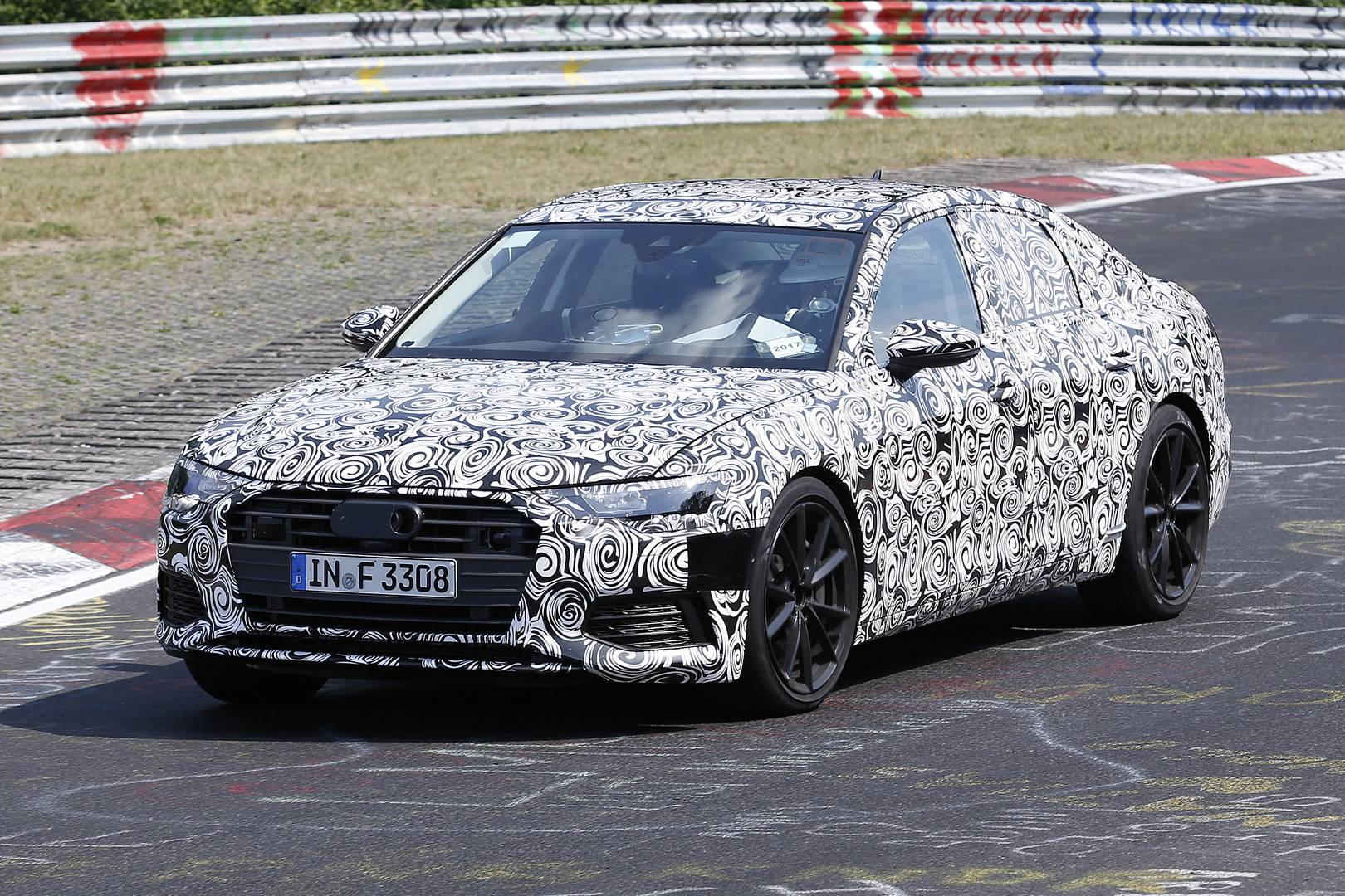 2019 Audi S6 First Spy Shots
