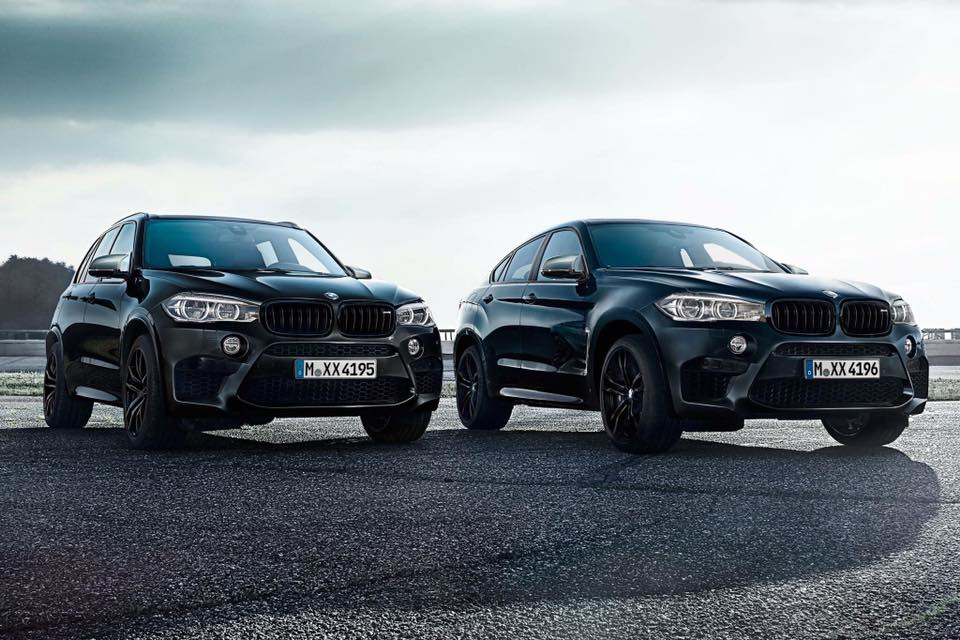 BMW comes up with X5 and X6 M Black Fire editions