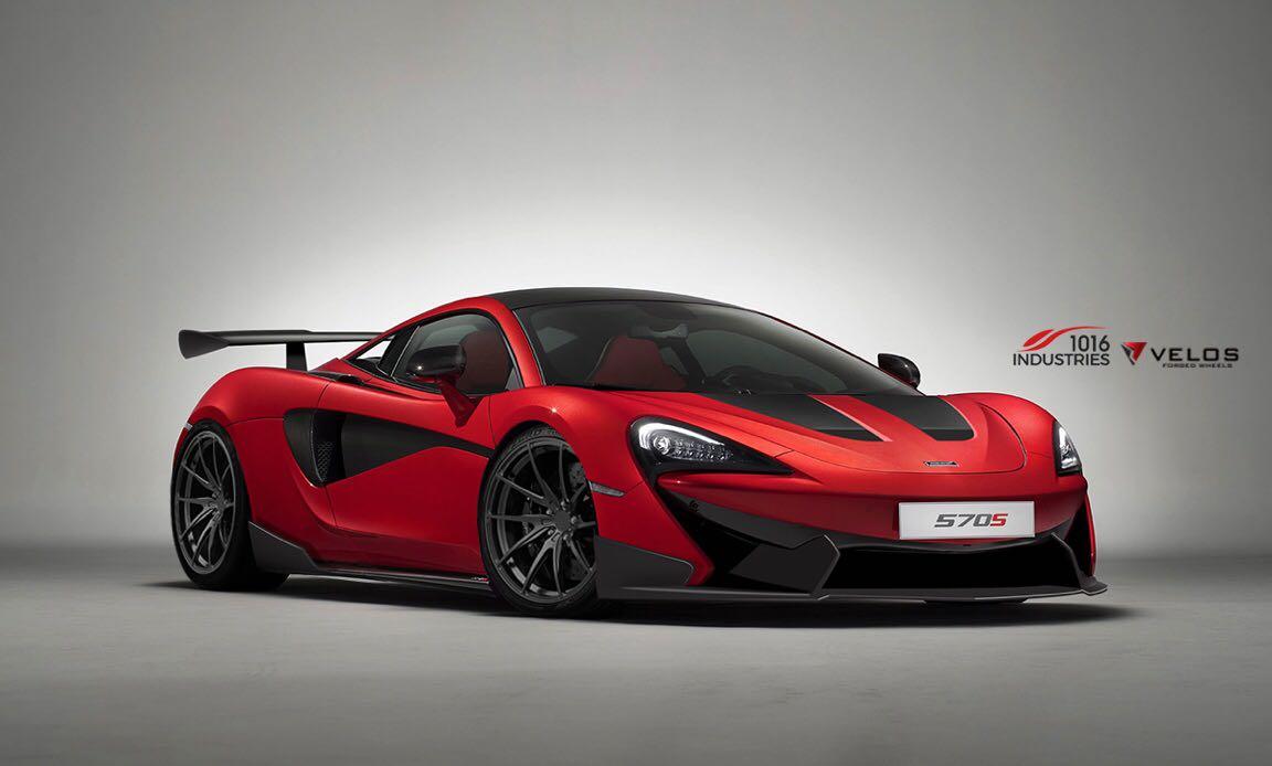 Official: McLaren 570S by 1016 Industries